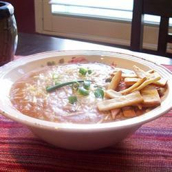 Chicken Enchilada Soup II Traci-in-Cali