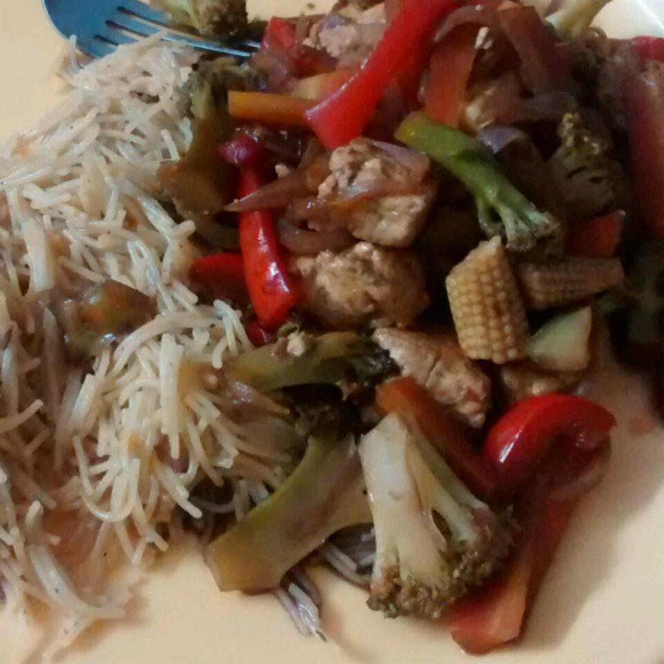 Sesame Vegetable Stir-Fry Arushi Kaushal
