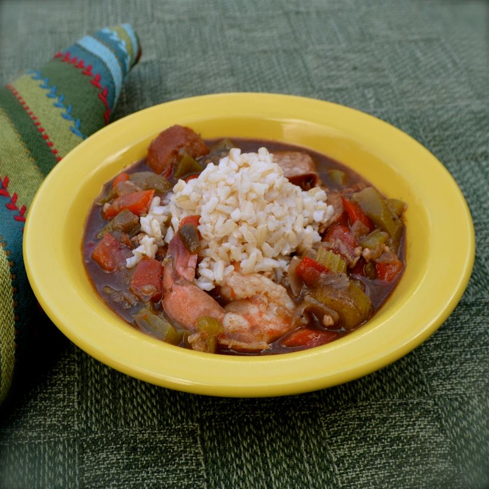 Sausage and Shrimp Gumbo