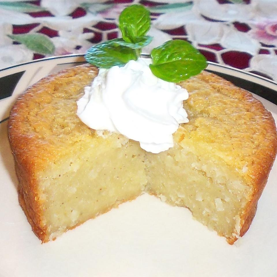 Impossible Eggnog Coconut Pie Yoly