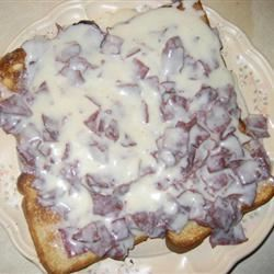 Creamed Chipped Beef Shannon Evans
