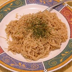Spaghetti With Peanut Butter Sauce