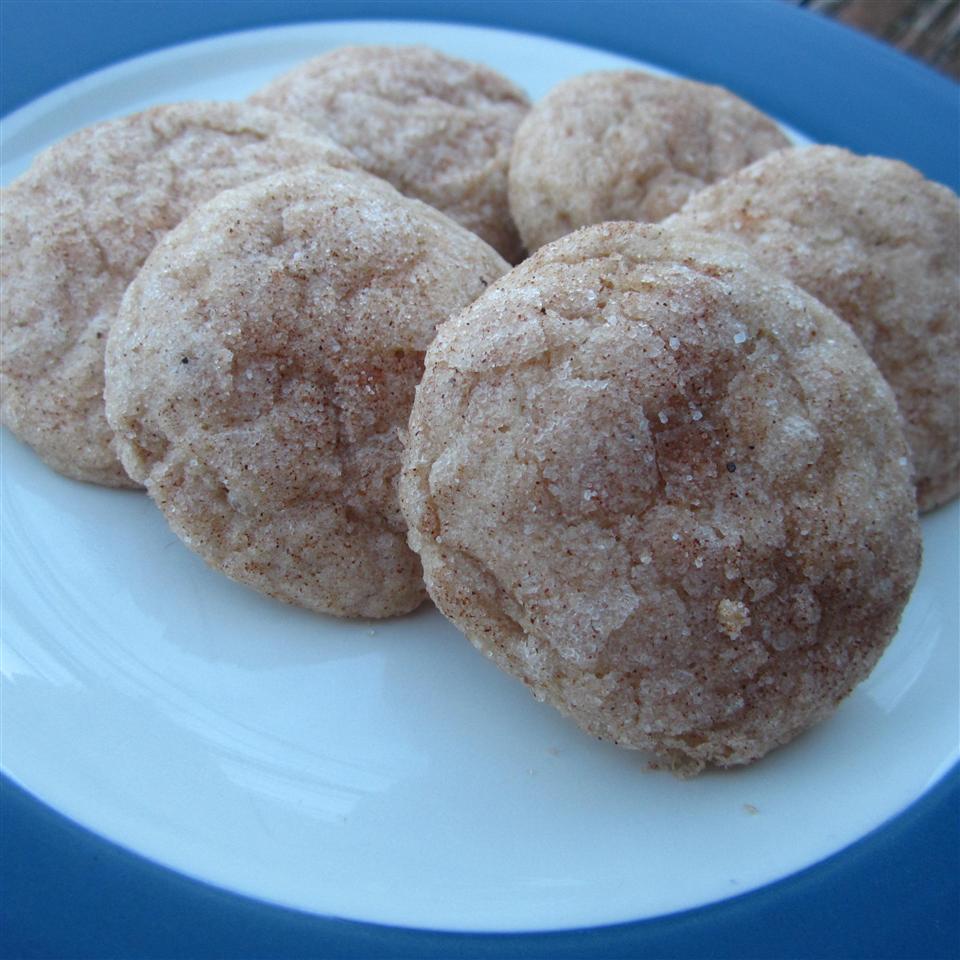Pumpkin Spice Soft Sugar Cookies