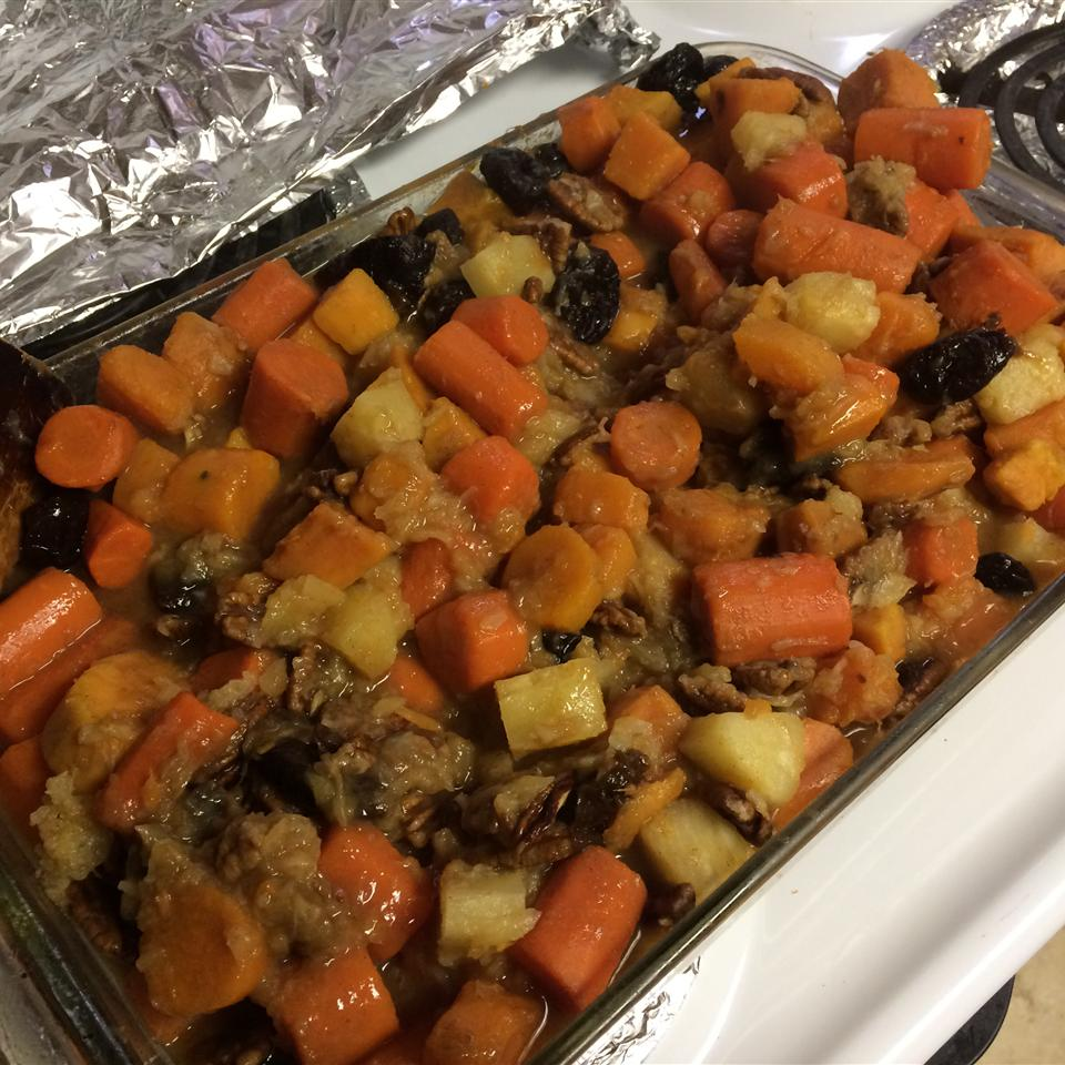 Carrot and Sweet Potato Tzimmes