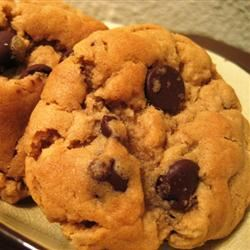 Peanut Butter Cookies with Chocolate Chunks Erin Kate