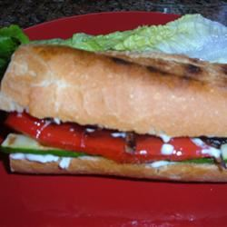 California Grilled Veggie Sandwich Fit&Healthy Mom