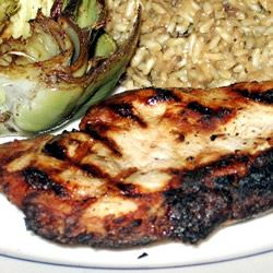 Grilled Lemon Herb Pork Chops Eileen in AR