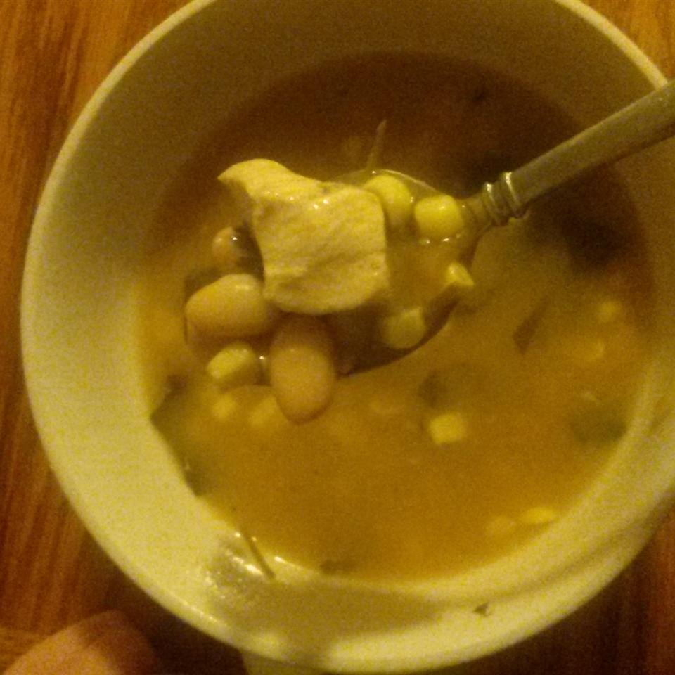 Spicy White Chili with Chicken Danielle Carr