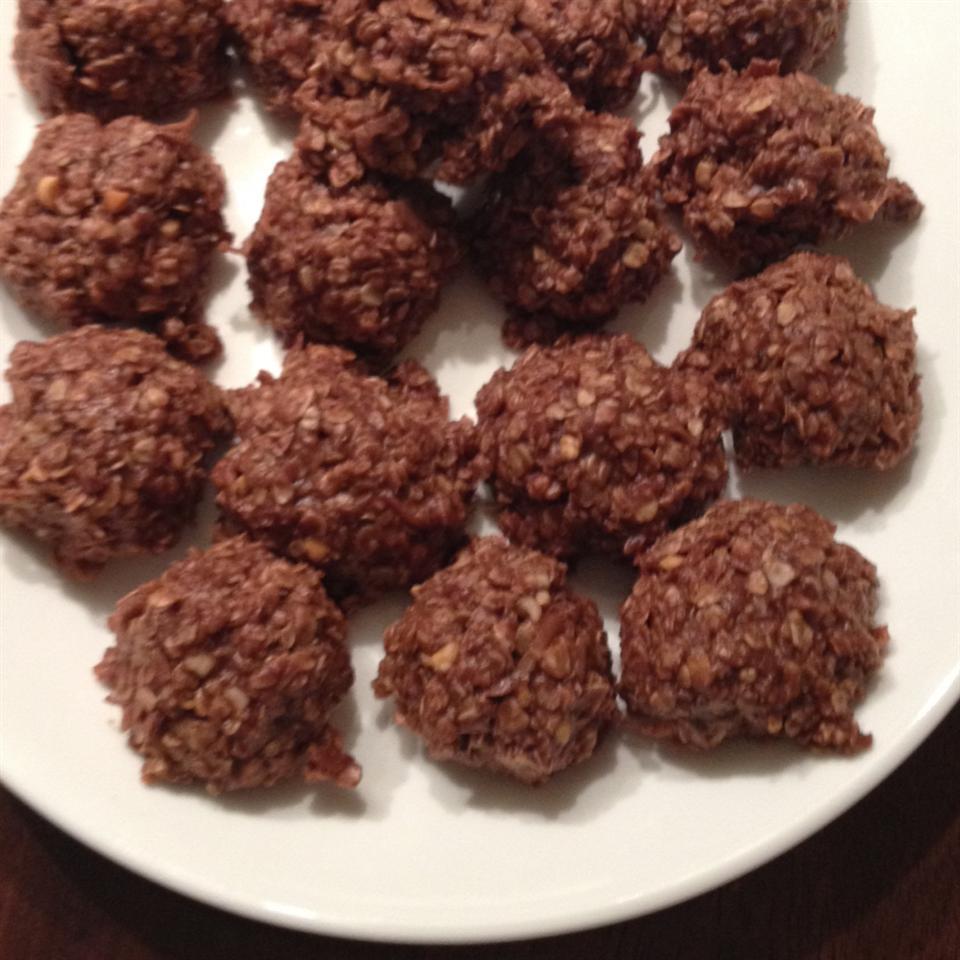 Healthier No Bake Cookies I crogers-rivera