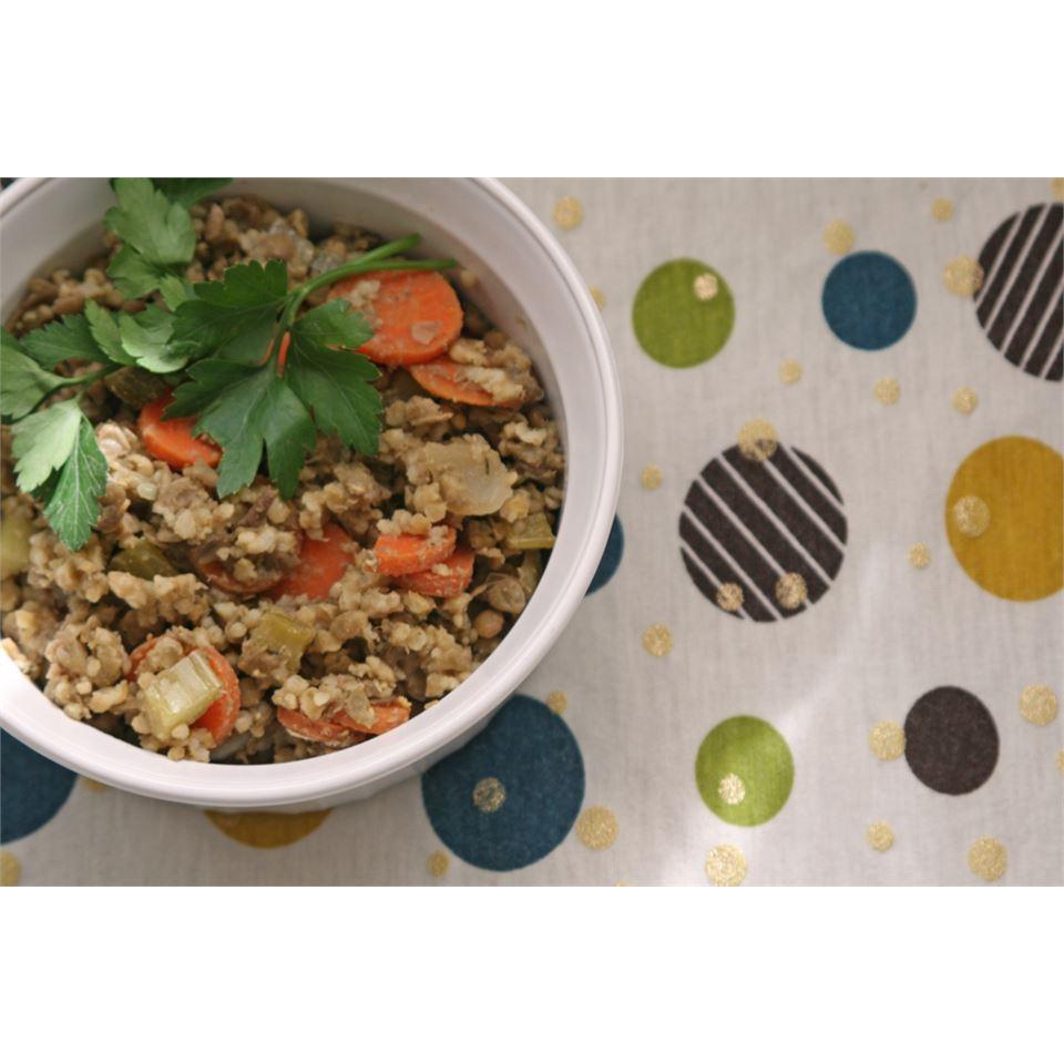 Lentil and Buckwheat Salad AZ