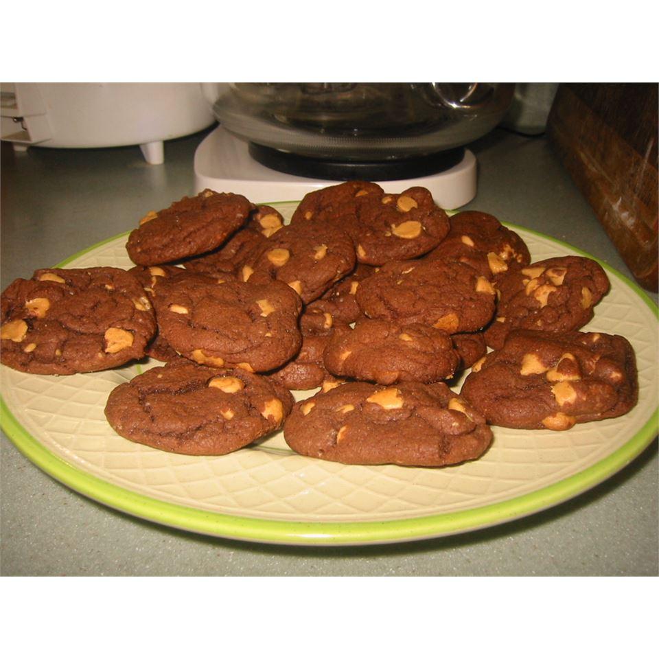 Devil's Food Peanut Butter Chip Cookies