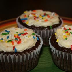 Chocolate Surprise Cupcakes