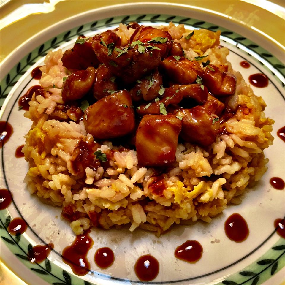Sweet, Sticky and Spicy Chicken benmo