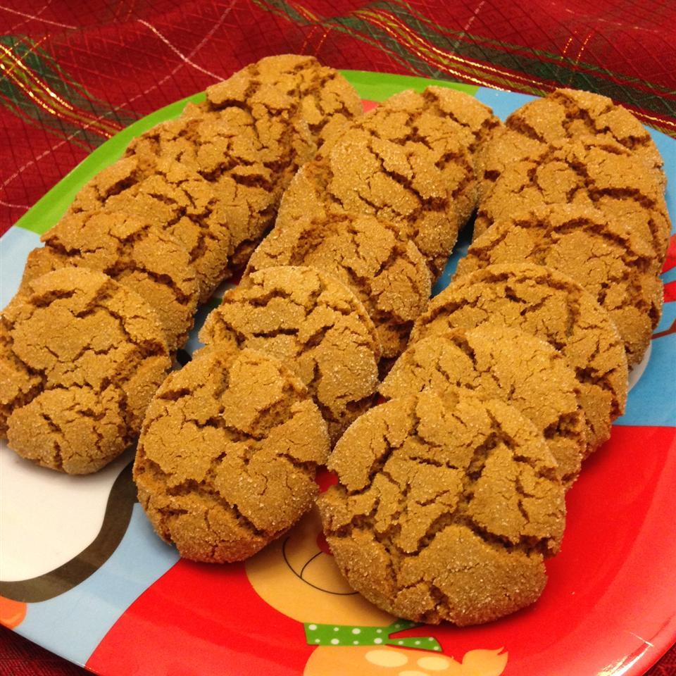 Mom's Ginger Snaps