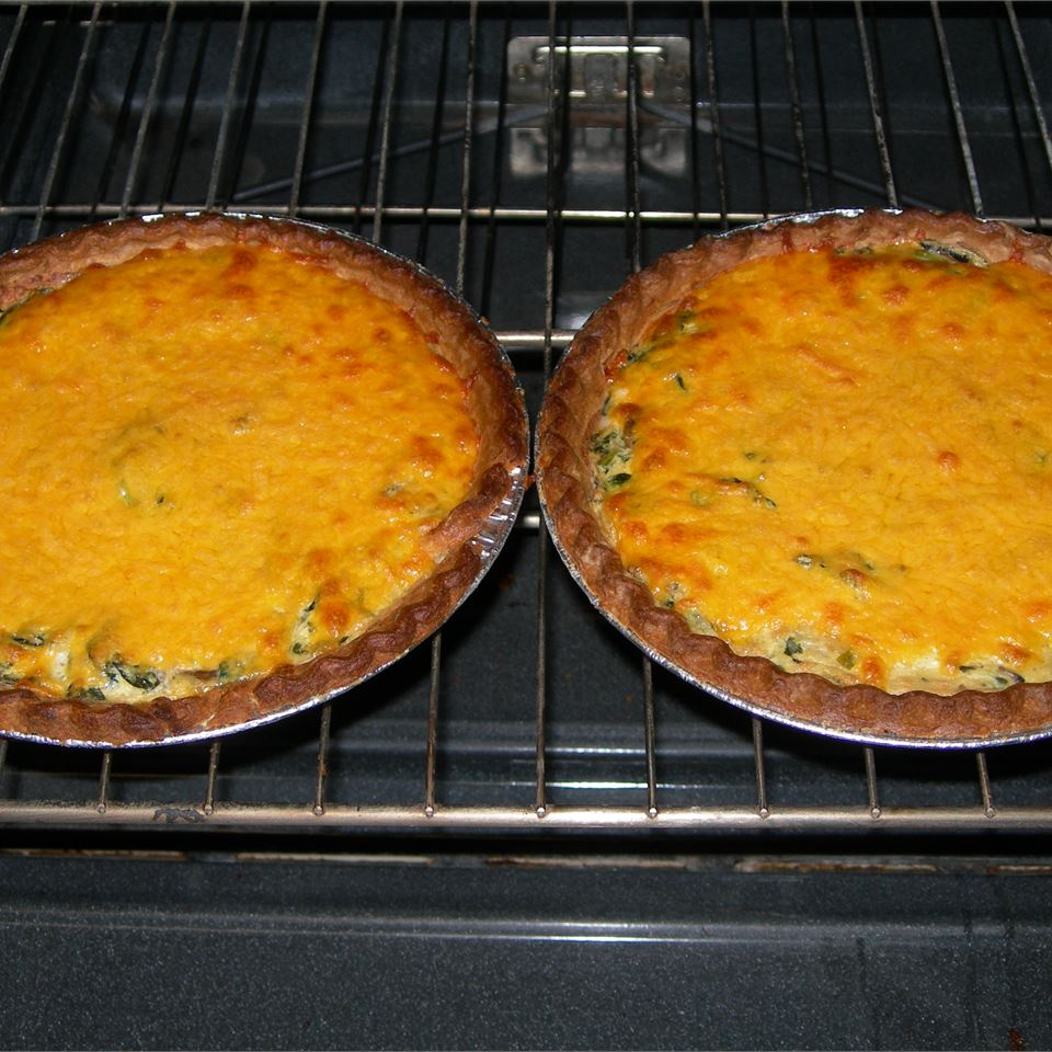 Spinach and Red Chard Quiche Molly McAllister