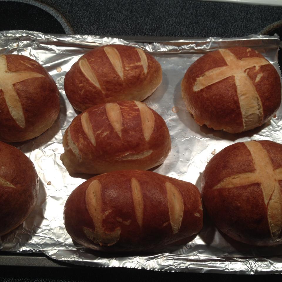 Pretzel Bread tinachen