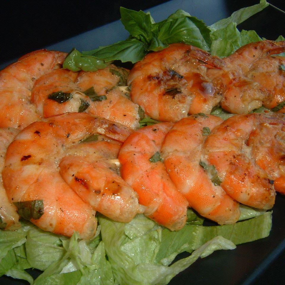 Basil Shrimp Caroline C