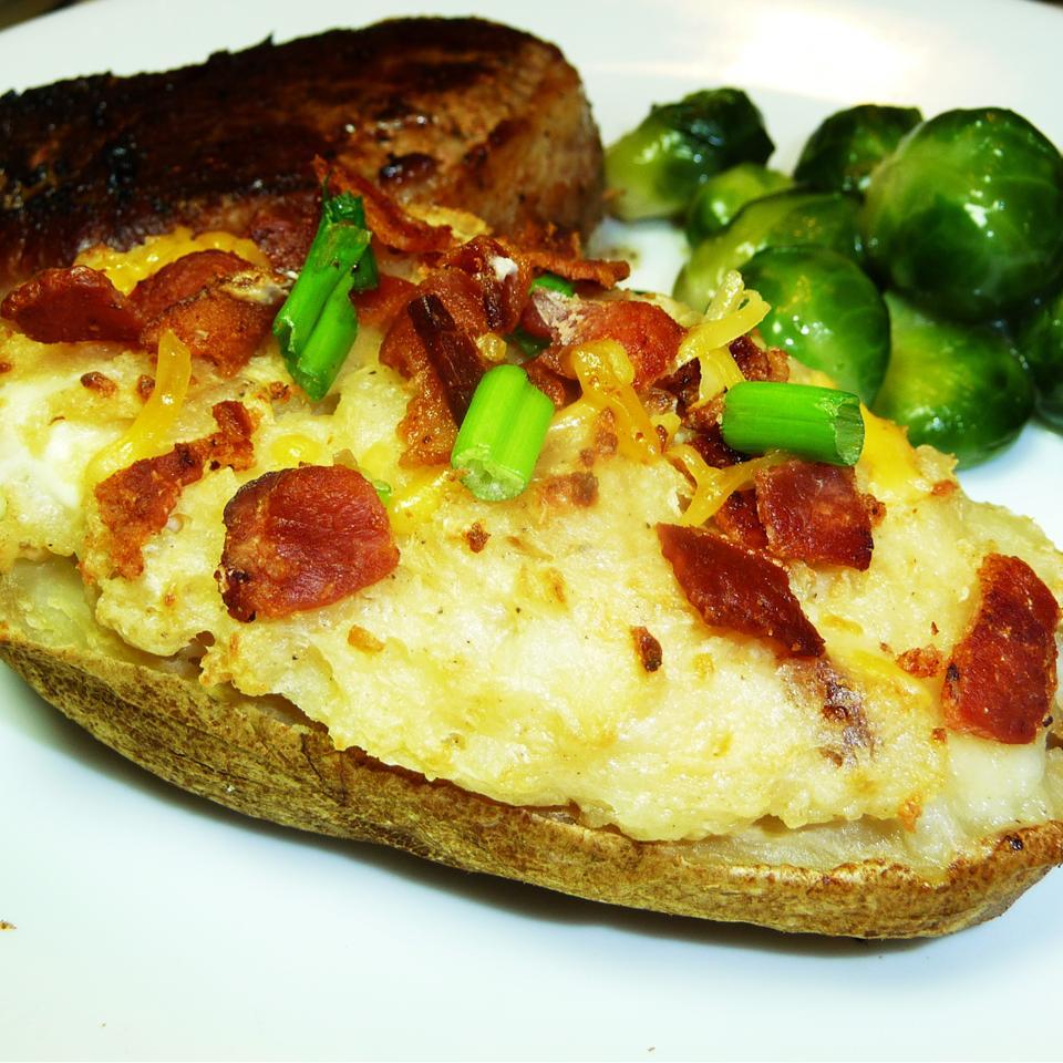 Cheesy Twice-Baked Potatoes Kraig