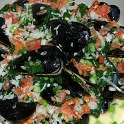 Mussels in Curry Cream Sauce