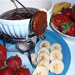 chocolate fondue lafrique recipe