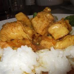 Orange Curried Chicken MamaToNikolas