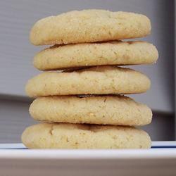 Lemon Sugar Tea Cookies pomplemousse