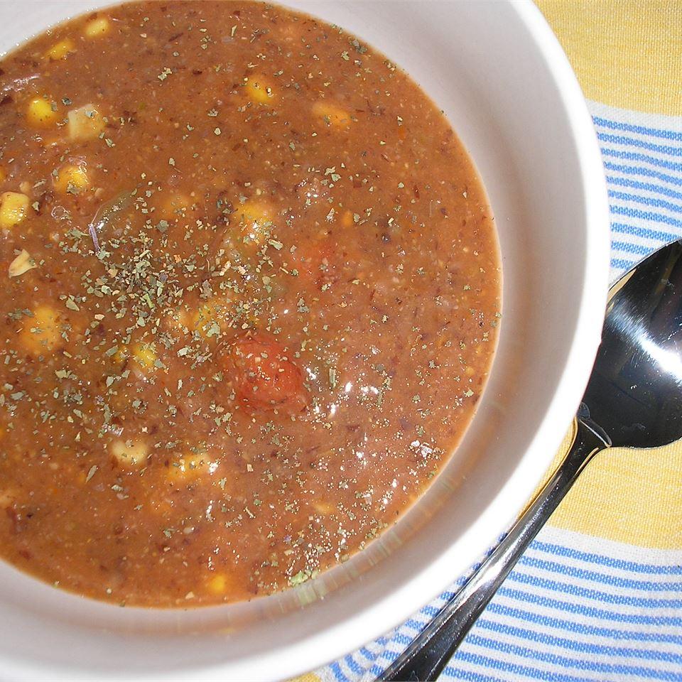 Cajun Corn Soup Tara