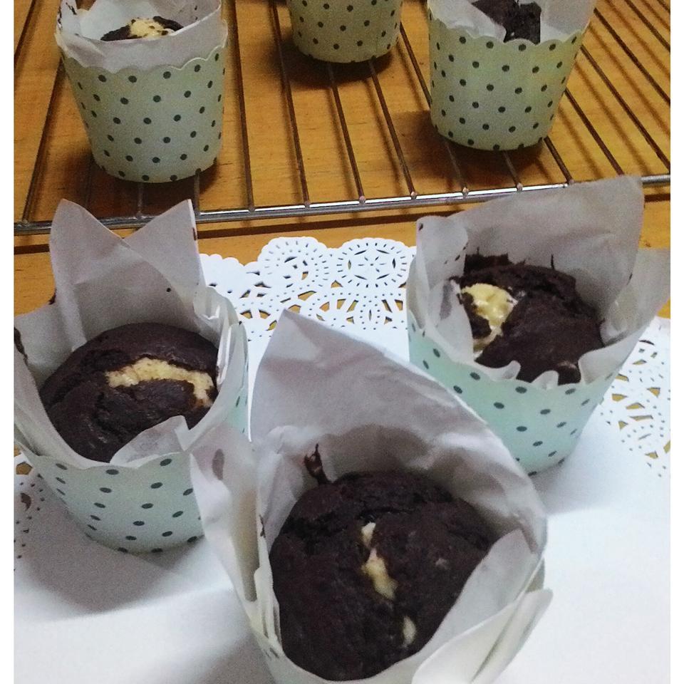 Chocolate Filled Muffins Carol