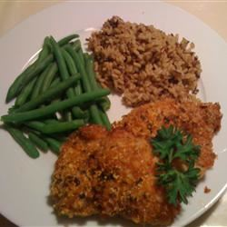 Crispy Herb Baked Chicken firstklass
