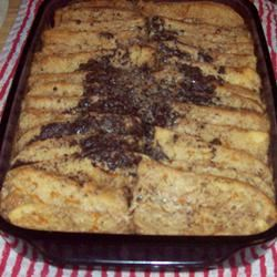 Trishie's Chocolate and Orange Bread Pudding