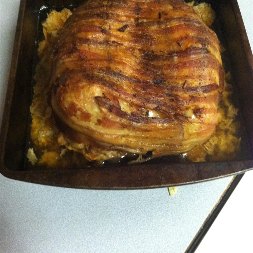 Slow Cooker Bacon-Ranch Beer-Can Turkey donnamul