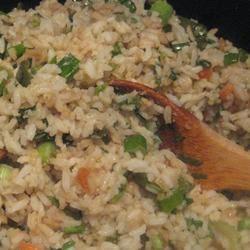 Fried Rice with Cilantro Sarah