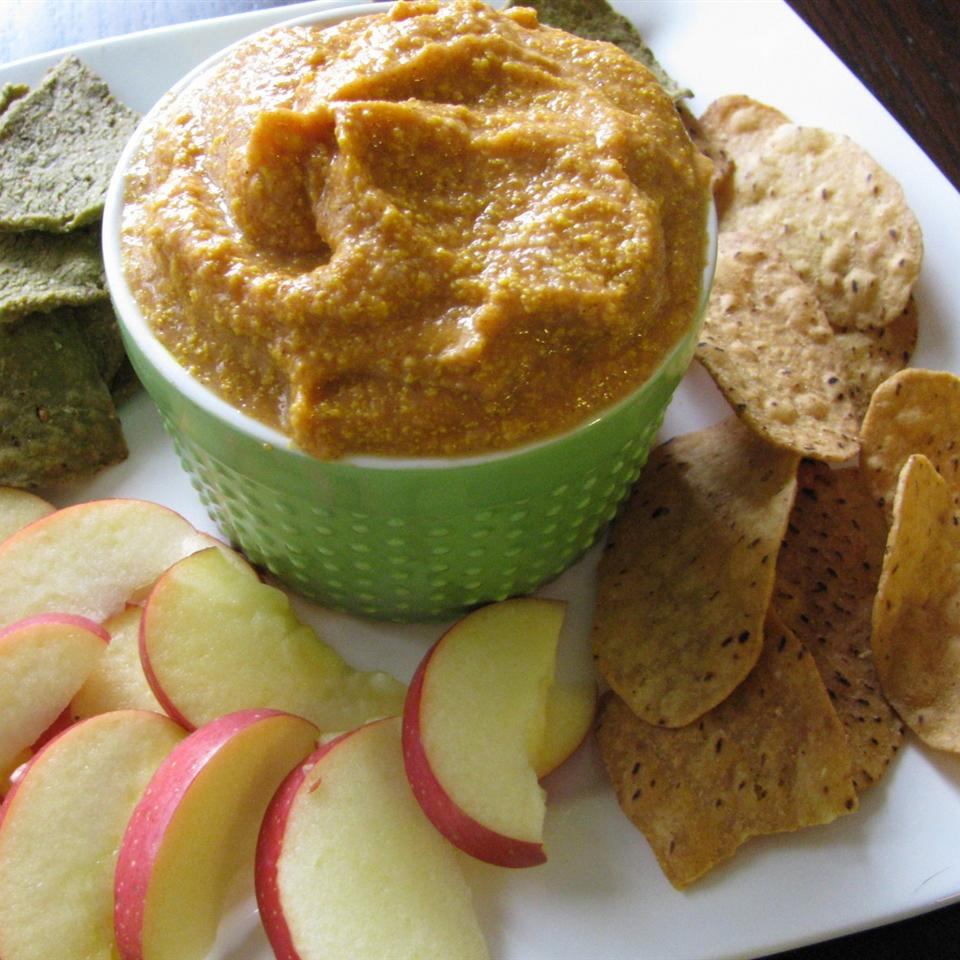 Yummy Apple and Pumpkin Dip
