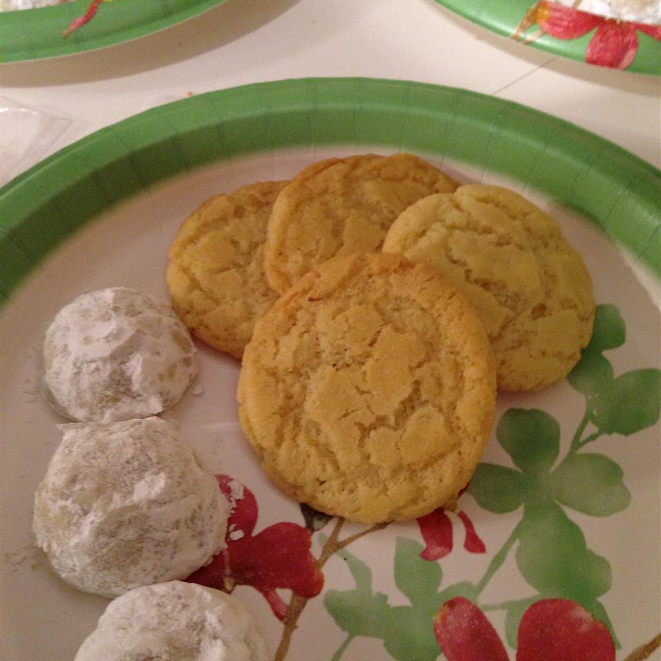 Cracked Sugar Cookies I