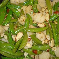 Snow Peas with Water Chestnuts FITFreshNY