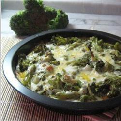 Broccoli Quiche with Mashed Potato Crust stackhawkley