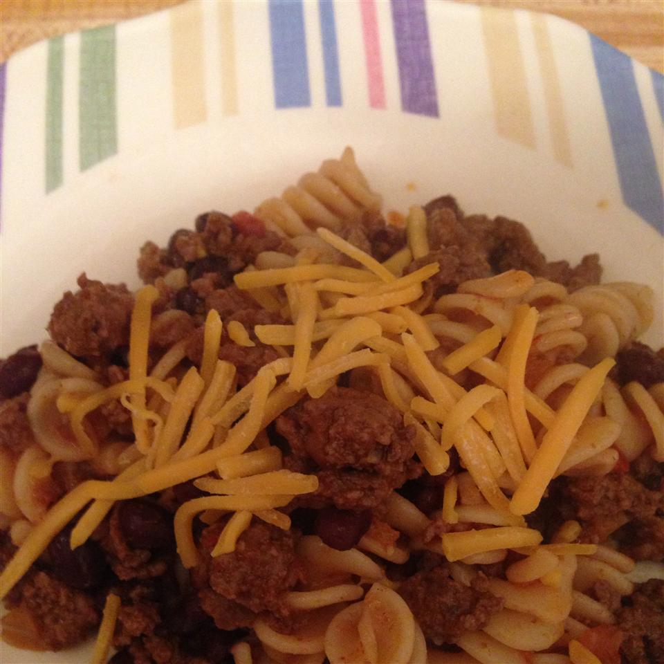 Taco Beef and Pasta