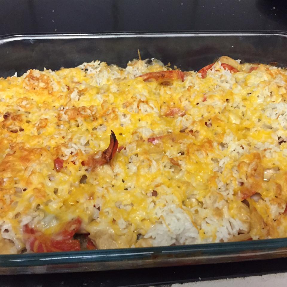 Chicken Rice Mexicana kellinto