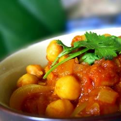 Cholay (Curried Chickpeas) SunFlower