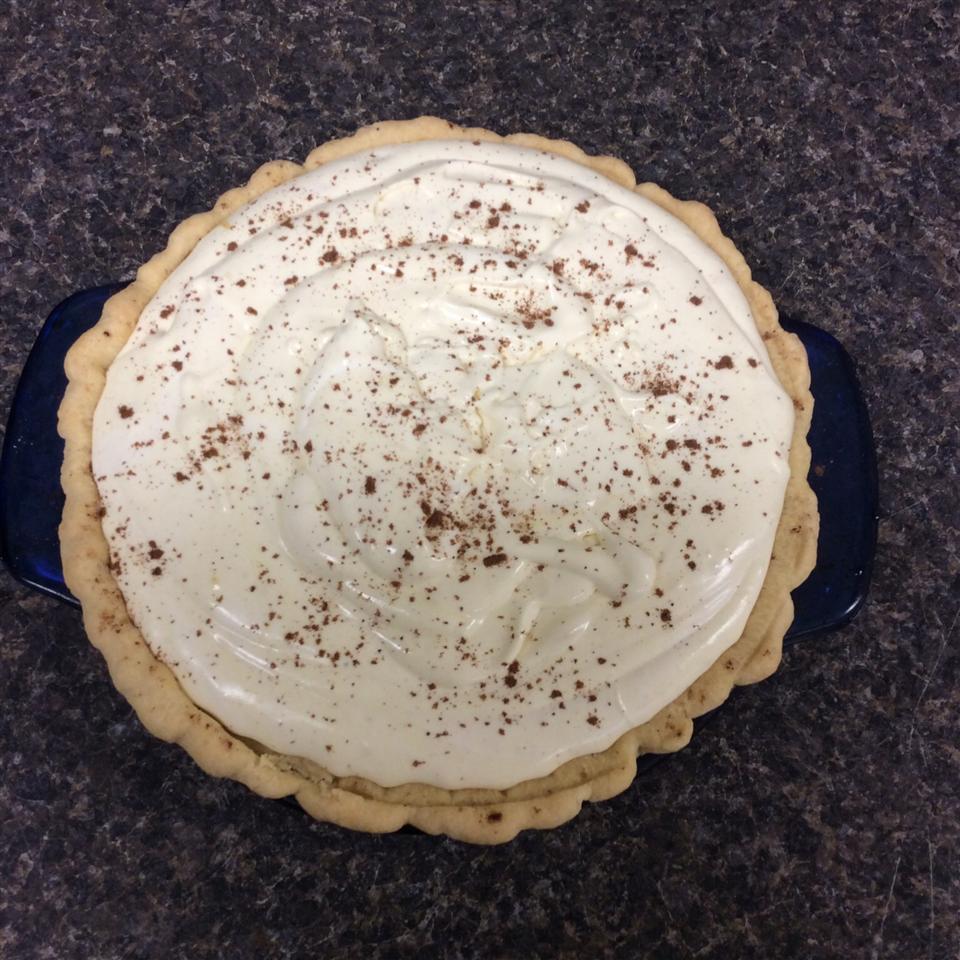 Yummy Eggnog Pie