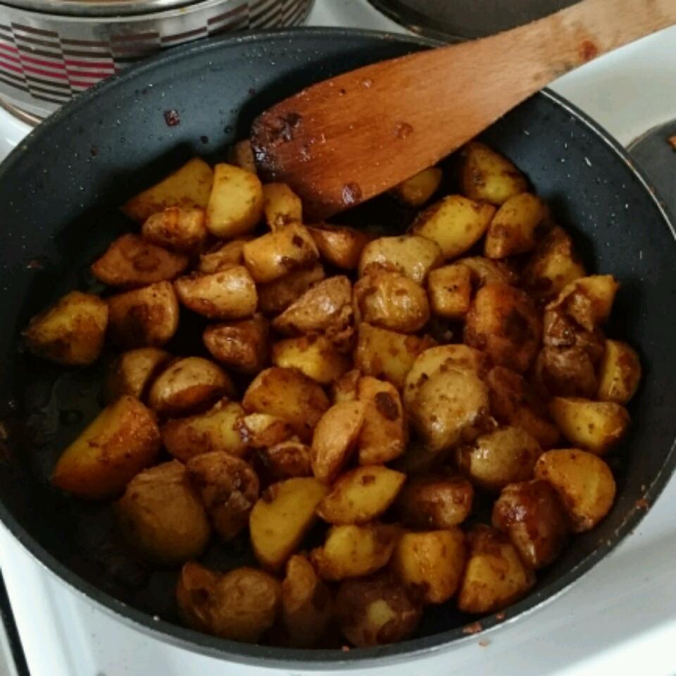 Indian Curry Potato Fries Travis strike