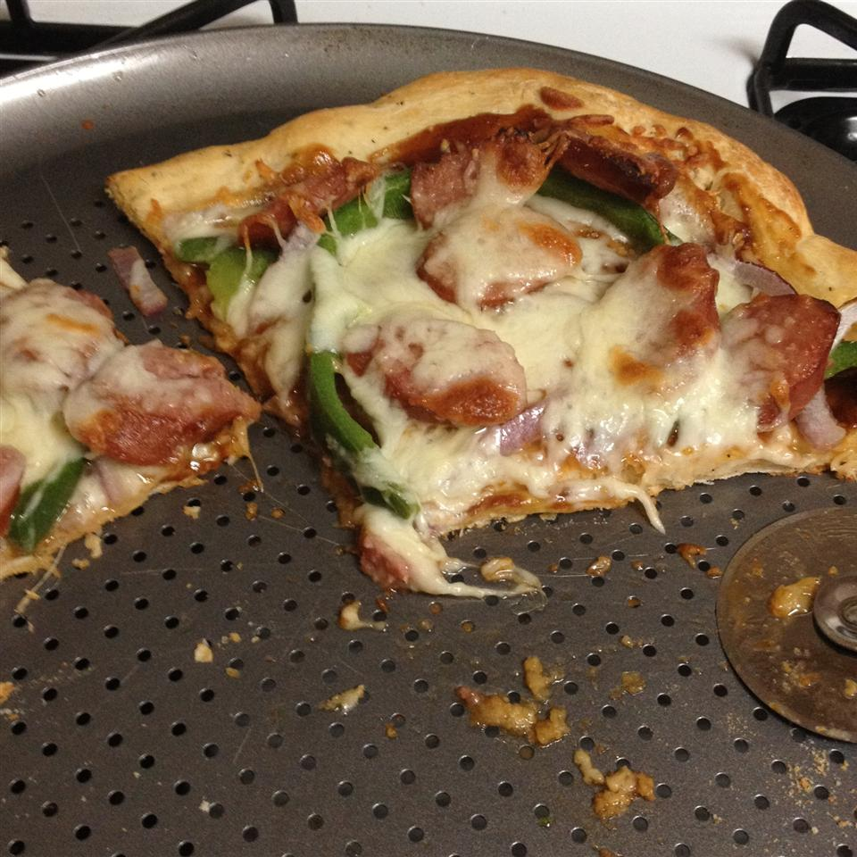 Barbecue Smoked Sausage Pizza Jacolyn