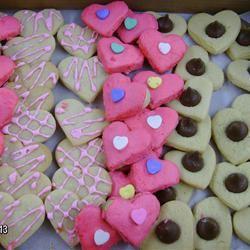 Pope's Valentine Cookies sizesangel
