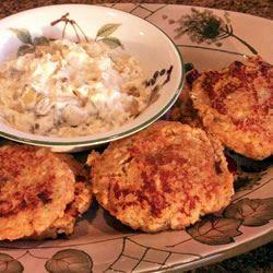 Potato Salmon Patties