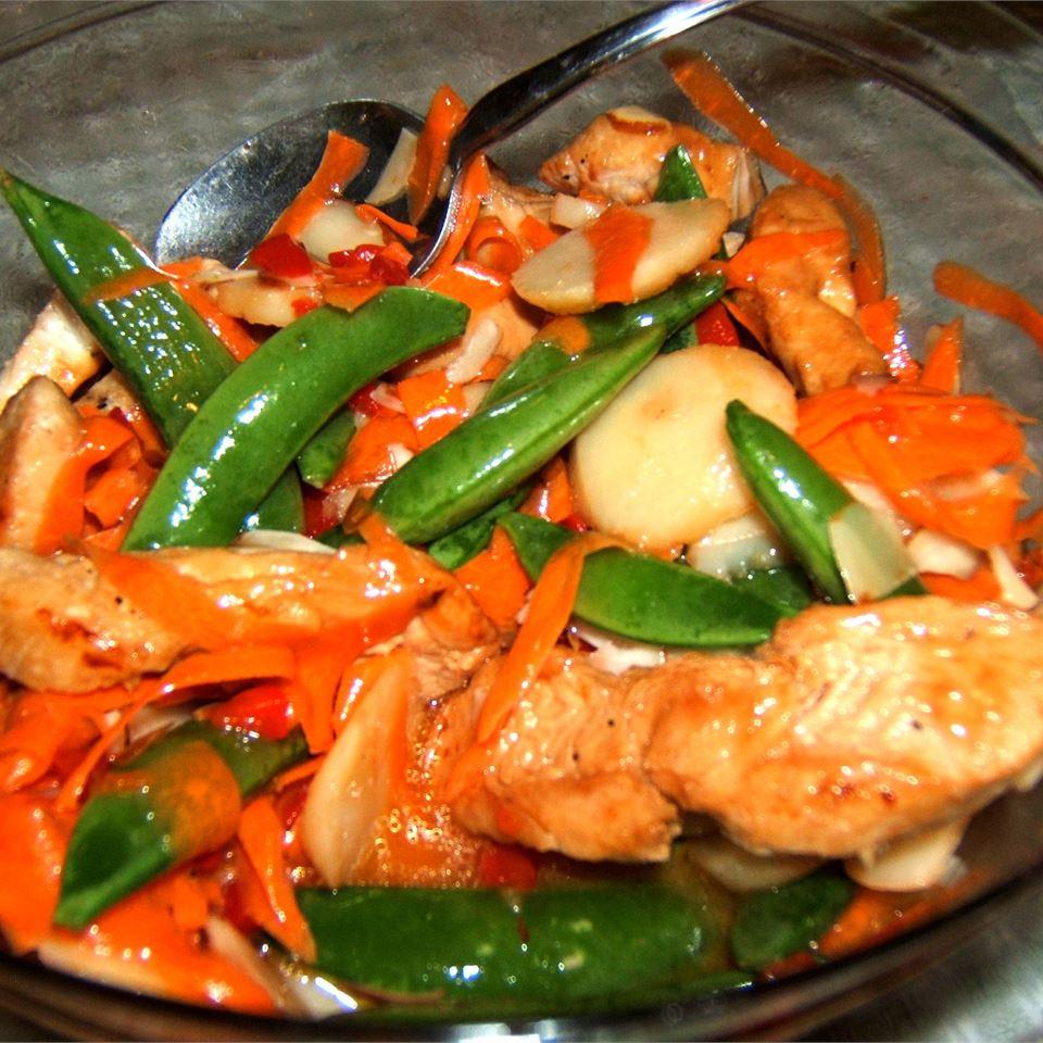 Almond Chicken Salad healthnut