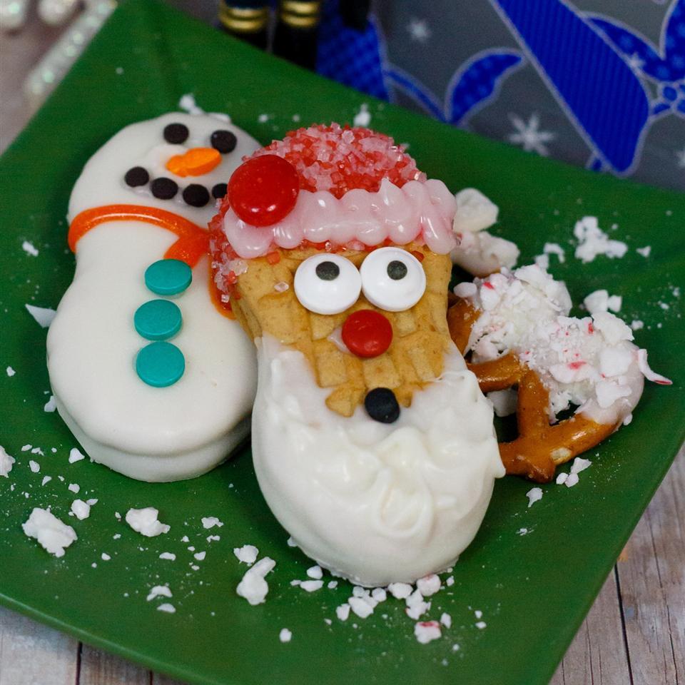 Wanna Build a Snowman Cookie?
