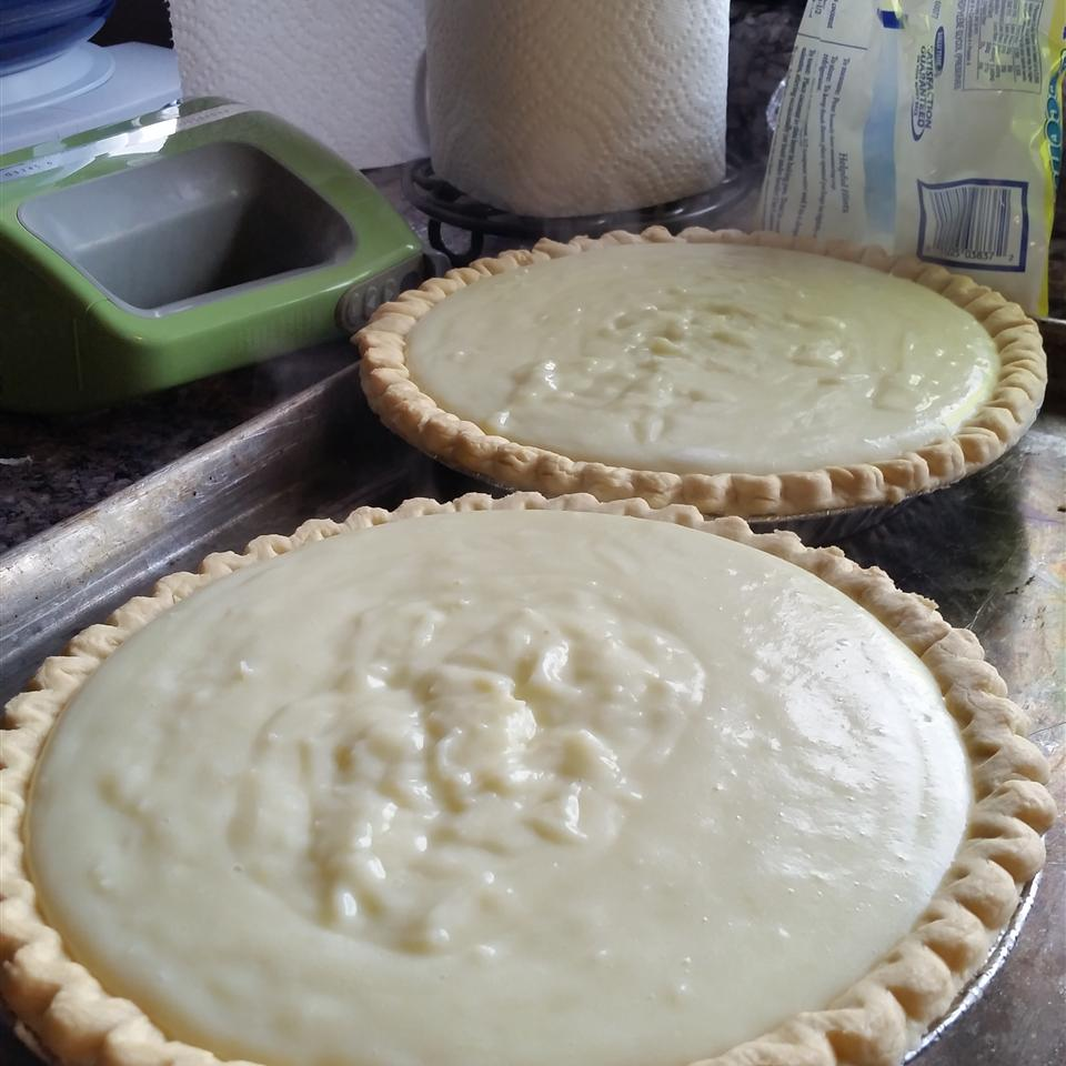 Coconut Marshmallow Cream Meringue Pie Angela Davidson Deskins