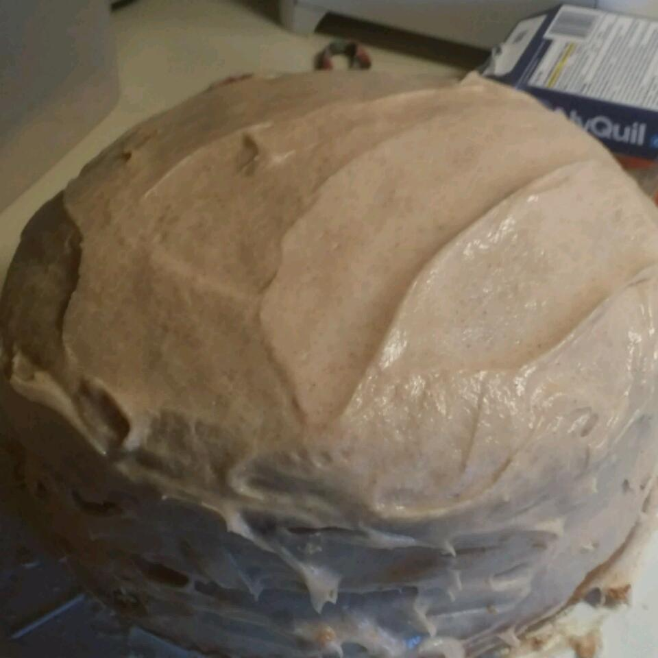 Pumpkin Spice Cake with Cinnamon Cream Cheese Frosting