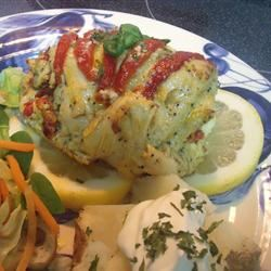 Feta and Sun-Dried Tomato Stuffed Chicken