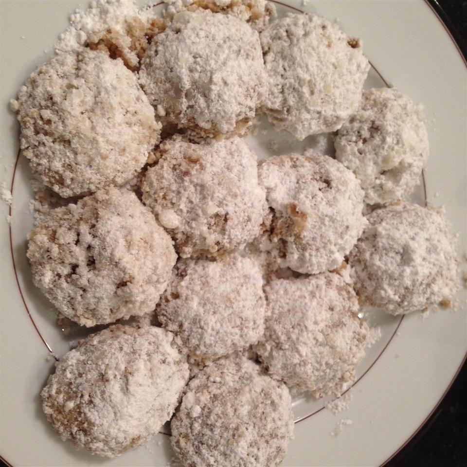 Vegan Mexican Wedding Cookies Toytle